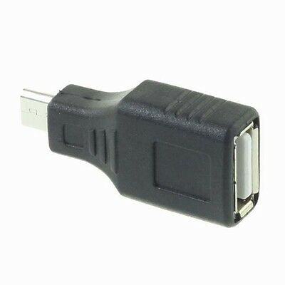 Good Quality USB 2.0 Female to Micro USB B 5 Pin Male Plug OTG Adapter Converter