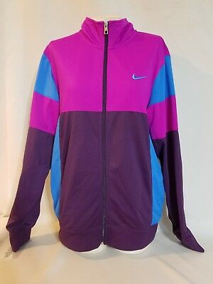 Nike Women's Jacket Track Athletic Full Zip The Athletic Dept Size M. #A6 | eBay