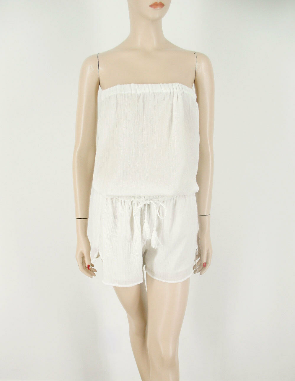 Soft Joie Connely B Romper in Porcelain White L  188 9051 BM9