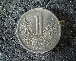 1 Krone - Protektorat Böhmen-mähren - 1941 - (ut7n153) Profitieren Sie Klein