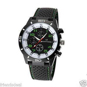2016 f1 gt sports mens watches wrist watch rubber silicon strap image is loading 2016 f1 gt sports mens watches wrist watch