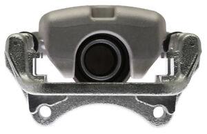 Disc Brake Caliper-Friction-Ready New Caliper with Bracket Rear Left Raybestos