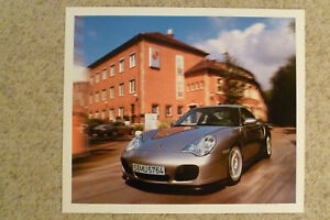 1998 Porsche 911 Coupe Historical Showroom Poster RARE! Awesome L@@K