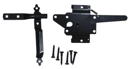 Hinges, Latch, Drop Rod Western Gate Hardware Wood Fence Gate Double Gate Kit