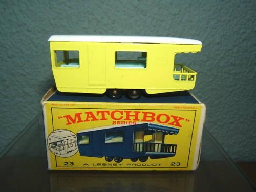 Matchbox Lesney Modelo No.23d Remolque Cocheavan VN MIB