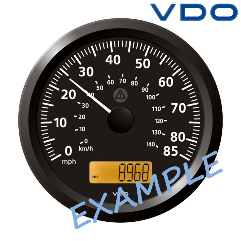 VDO Viewline Geschwindigkeistmesser LCD 110mm 4