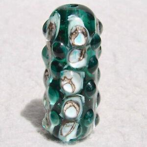 KETCHIKAN Handmade Art Glass Focal Bead Flaming Fools Lampwork Art Glass SRA