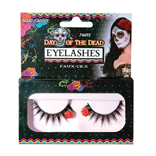DAY OF THE DEAD EYELASHES COST-AC NEW