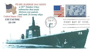 Uss-Tautog-SS-199-Sottomarino-Pearl-Harbor-1941-Nave-Foto-Primo-Day-Of-Tema-Pm