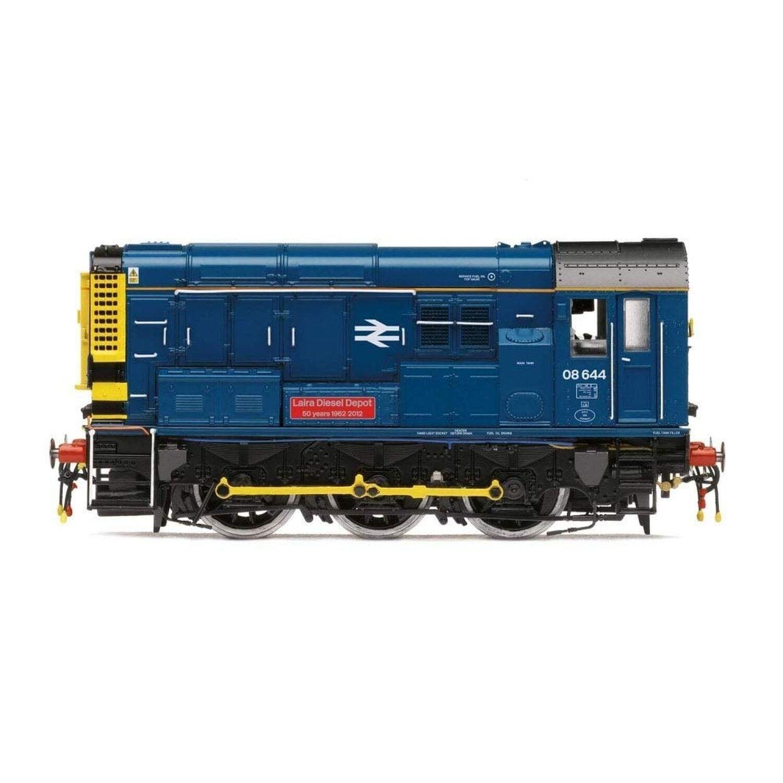 Hornby R3485 British Rail 0-6-0 Laira Diesel Depot Class 08  Train Model Set