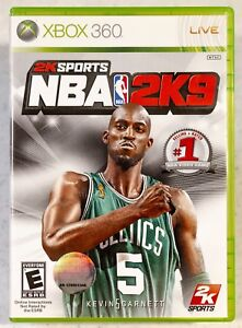 NBA 2K9 (Microsoft Xbox 360, 2008) Complete