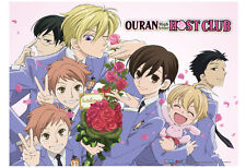 **License Poster** Ouran High School Host Club Welcome Party Wallscroll #5221