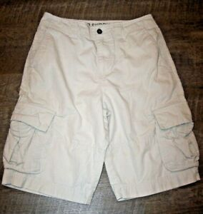 Mossimo Supply Co. Light Stone Beige Color Cargo Shorts Men's Size 28 All Cotton