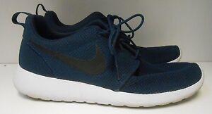 Nike Roshe One Midnight Navy Black White 511811-405 Mens 10 11
