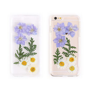premium selection fc319 1fd69 Details about DIYwares Flower Pressed Smartphone Case Mobile Cover Skin for  Galaxy & iPhone