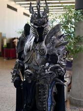 LICH KING ARTHAS SCALA 1:1 INDOSSABILE COSPLAY ( Costume, armatura, Warcraft)