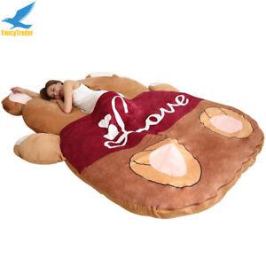 Image Is Loading Fancytrader 2018 Giant Plush Stuffed Cartoon Love Bear