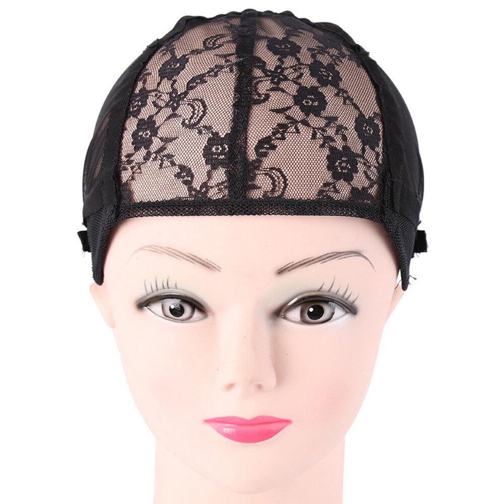 Elastic Lace Mesh Full Wig Cap Weaving Hair Net For Making