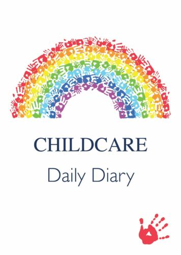 EYFS CHILDMINDER 1 X CHILDCARE DAILY DIARIES DAILY RECORD KEEPING LOG BOOK 2R