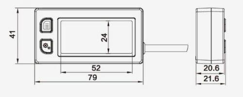 Multi Drehzahlmesser Wassertemperaturmesser Betriebsstundenzähler,2 4 Takt Kart