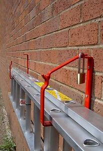 Image Is Loading Ladder Storage Bracket For Wall Or Shed Keeps