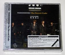 DBSK TVXQ - The Secret Code (2CD+DVD 1st Press Limited Edition) Korea ver. K-POP