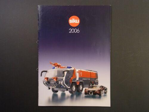 SIKU Händlerkatalog von  2006  Händler Katalog Programm in DIN A4 Prospekt