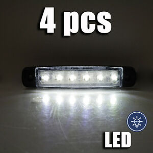 LED-SMD-BIANCO-INDICATORE-LATERALE-LUCE-POSIZIONE-POSTERIORE-UNIVERSALE-CAMION