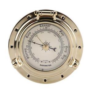 Retro-Barometer-for-Navigation-Marine-RV-Yacht-Boat-SUV-Golden