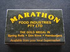 MARATHON FOOD INDUSTRIES PTY LTD MATCHBOX
