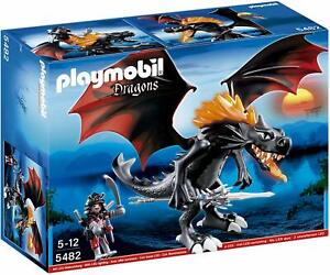 NEW-SEALED-PLAYMOBIL-5482-Giant-Battle-Dragon-with-LED-Fire-Knights