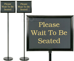2 Pack 15 Message Black Changeable Restaurant Hostess Wait Teller