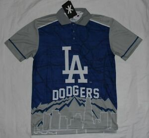 Los Angeles LA Dodgers Klew By Forever Collectibles Thematic Polo ... a6ea7f1c7