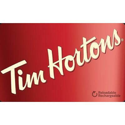 Tim Hortons Gift Card - $25 Mail Delivery