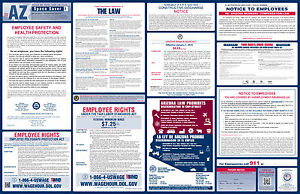 2019 Arizona State & Federal Labor Law Poster - All-On-One ...