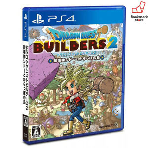 NEW-PS4-Dragon-Quest-Builders-2-SONY-PlayStation-4-import-Japan-F-S-Tracking