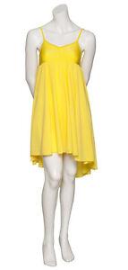 94f320361c76a pour filles et femmes jaune uni Lyrical Robe contemporain danse ...