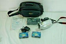 Jvc Gr Sxm750u Super Vhs Camcorder 600x Digital Zoom Ebay