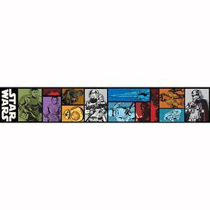 Detalles De Star Wars Episodio Vii Self Adhesive Wallpaper Frontera 5m Dormitorio De Niños Decoración De Pared Ver Título Original