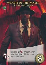 LUKE CAGE NOIR Upper Deck Marvel Legendary NOIR SP WEIGHT OF THE WORLD