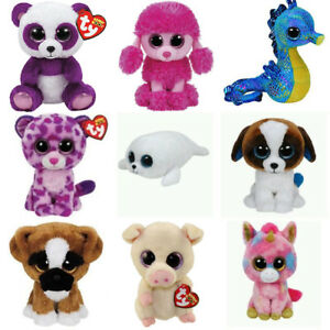 Ty-Beanie-Boo-Babies-6-034-Plush-Baby-Originals-24-to-choose-from-New-Other