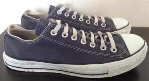 en béisbol azul Zapatillas 42 8 All eu zapatillas 5 béisbol Reino Chuck Unido marino bajas de Star de Converse 55rx1Y