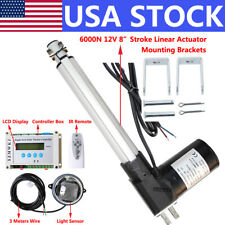 New Listing12v 8 6000n Linear Actuator Amplcd Controller Diy Single Axis Solar Panel Tracker