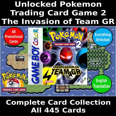 pokemon card game 2 english rom