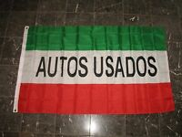 3x5 Advertising Autos Usados (used Cars) Flag 3'x5' Banner Brass Grommets