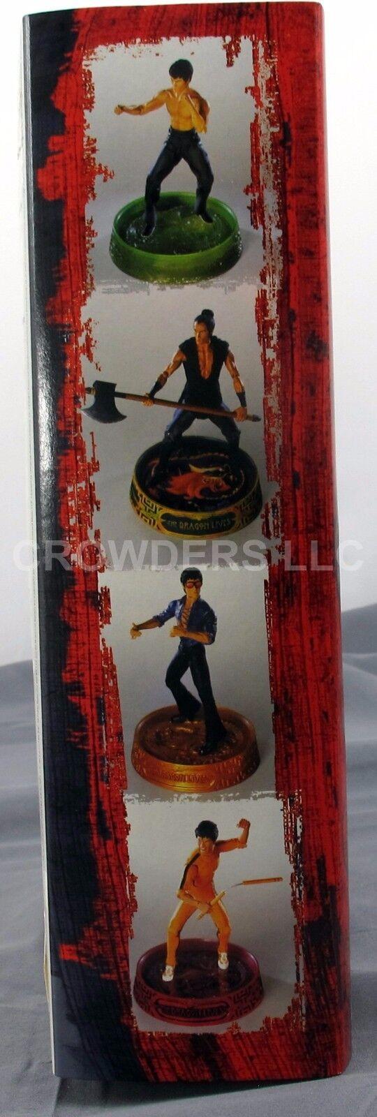 Bruce Lee The Dragon Lives Lives Lives IMMORTAL DRAGON 7  azione cifra Art Asylum NIP 2001 386d0f
