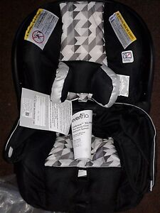 Image Is Loading Evenflo Lx DLX Embrace Infant Car Seat Black