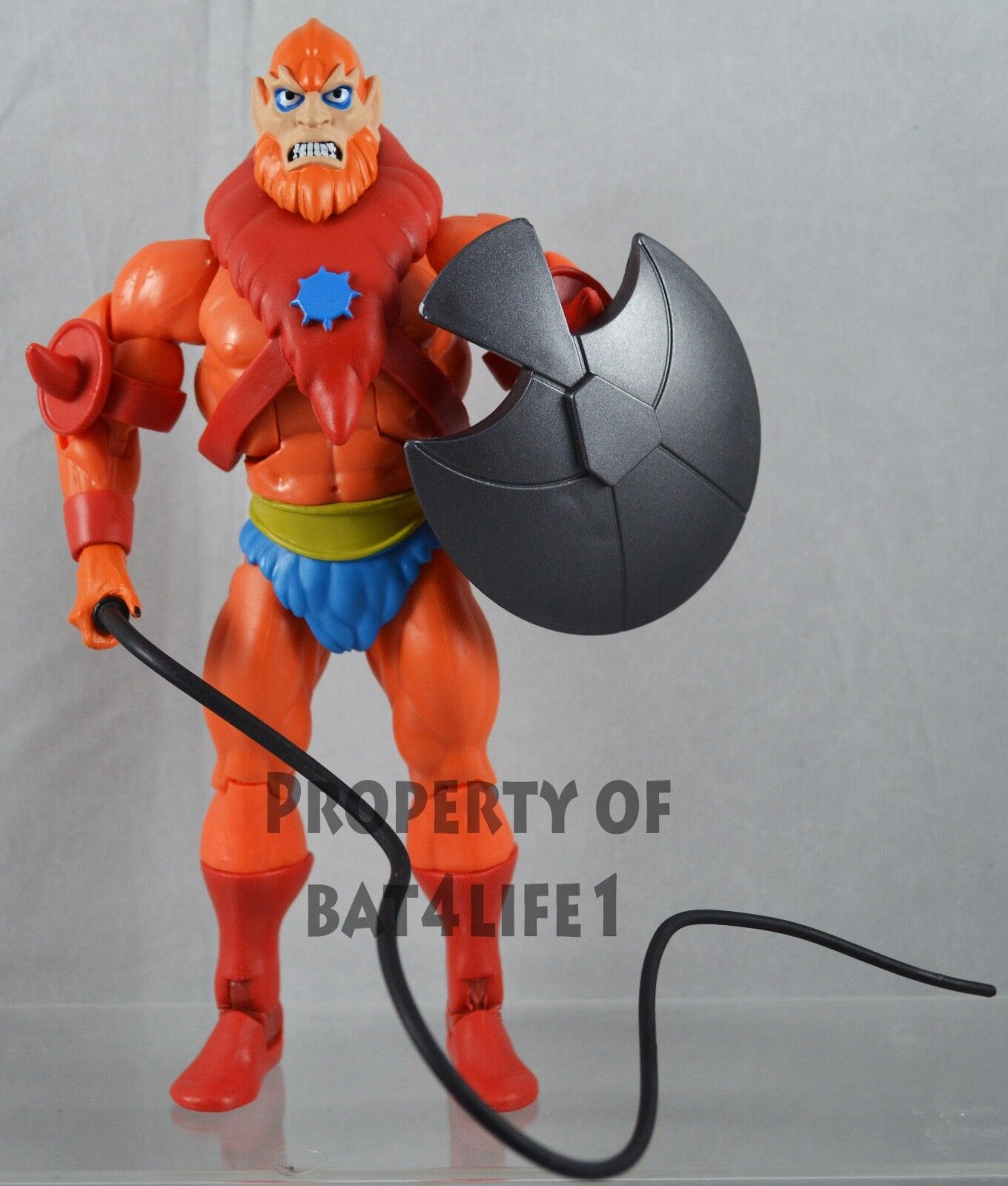 MOTU Masters of the Universe Filmation BEASTMAN LOOSE  NEW  FREE S H