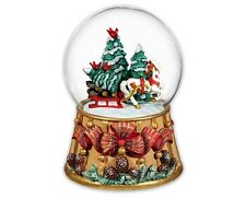Breyer Horses Holiday Traditions Christmas Musical Snow Globe 2016 - 700237