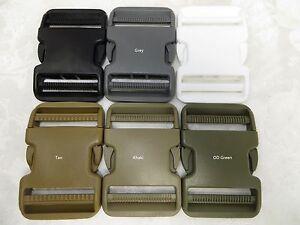 (2,10) -2'' (50mm)  Dual Side Release Waist Belt Plastic Buckle